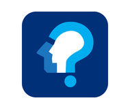Question Mark Icon Design Images stock