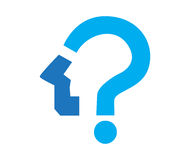 Question Mark Icon Design Photographie stock