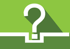 Question mark icon ,  FAQ sign and Help symbol Royalty Free Stock Photos