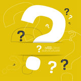 Question mark icon. Stock Image