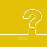 Question mark icon. Stock Photography