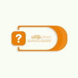 Question mark icon Stock Images