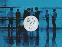 Question Mark Icon Solving Problem Solution Concept Royalty Free Stock Photos