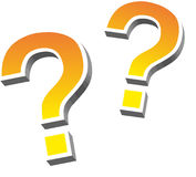 Question, Mark, Question Mark Stock Photography