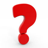 Question mark. Royalty Free Stock Image