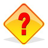 Question Mark Sign. Question mark or help sign Stock Image