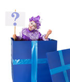 Question mark surprise Royalty Free Stock Photos