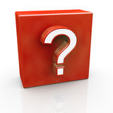 Question mark symbol Royalty Free Stock Images