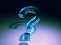 Question mark symbol Royalty Free Stock Image