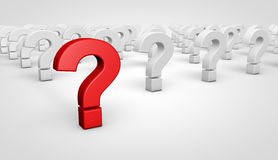 Question Mark Symbol Concept Royalty Free Stock Photo
