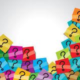 Question mark tag Stock Photography