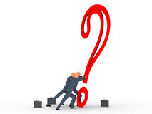 Question mark v5 Royalty Free Stock Images
