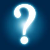 Question markerar Royaltyfri Fotografi