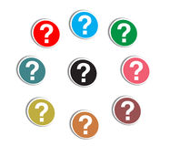 Question markreer Royalty Free Stock Photo