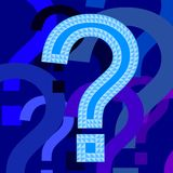 Question marks Stock Images