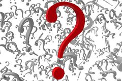 Question marks background Royalty Free Stock Photo