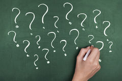 Question Marks Confusion Royalty Free Stock Image