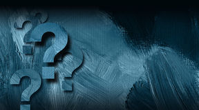 Question marks graphic on textured background Royalty Free Stock Image