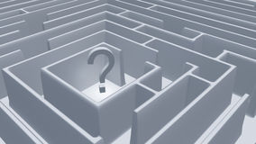 Question Maze Stock Image