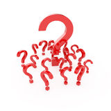 Question points Royalty Free Stock Photography