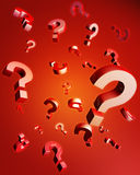 Question and problem concept Stock Photo