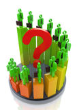 Question of professional development Stock Image