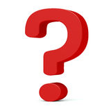Question sign Royalty Free Stock Photography