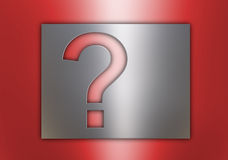 Question sign Stock Image