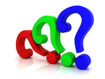 Question sign Stock Photo