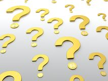 Question sign Royalty Free Stock Photo