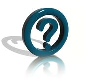 The Question sign Royalty Free Stock Photography