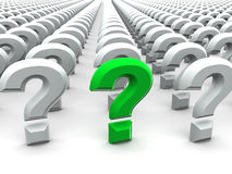 Question Sign Stock Images