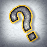 Question Sign Royalty Free Stock Photos
