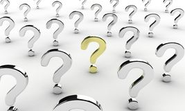 Question signs Royalty Free Stock Image