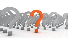 Question spéciale Image stock