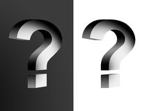 Question symbol Stock Photography