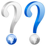 Question symbol Royalty Free Stock Images