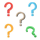 Question symbol Royalty Free Stock Image