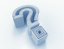 Question symbol Royalty Free Stock Photo