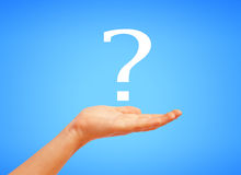 Question symbol Stock Images