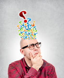 Question time Royalty Free Stock Photo