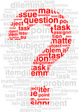 Question. Vector. Royalty Free Stock Photo