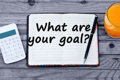 Question What are your goal stock photography
