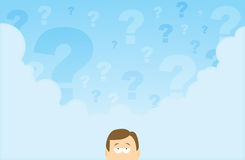 Questioning Mind Royalty Free Stock Images