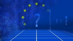 Questionmarks-Video lizenzfreie abbildung