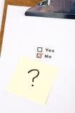 Questionnaire Images stock