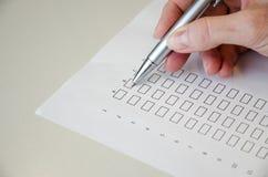 Questionnaire Photos libres de droits