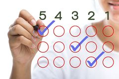 Questionnaire Royalty Free Stock Photography
