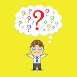 Questions vector illustration