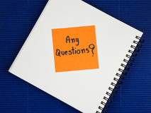 Questions Busniess concept 33 Royalty Free Stock Photos